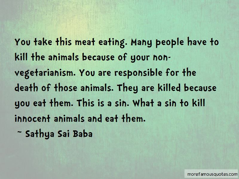 Quotes About Non Vegetarianism