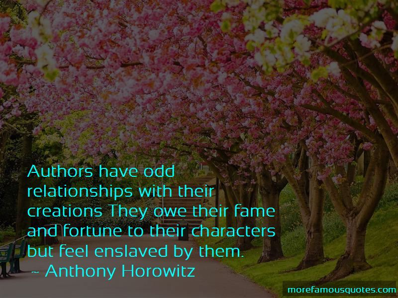 Quotes About Odd Relationships