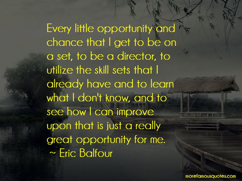 Opportunity And Chance Quotes Pictures 2