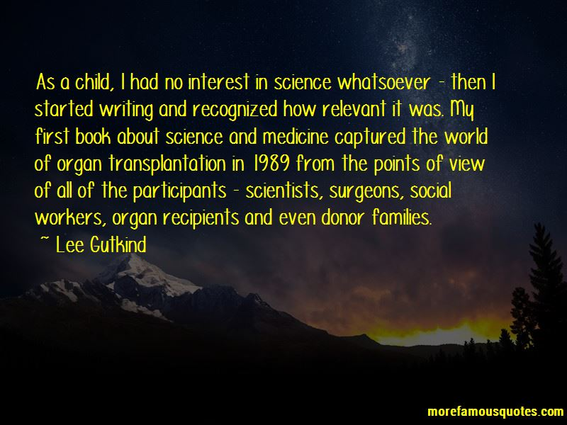 Quotes About Organ Transplantation
