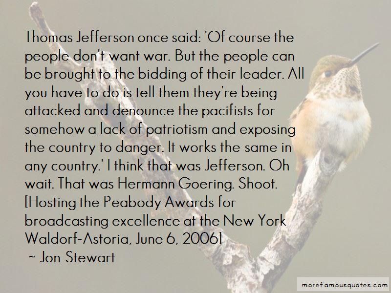 Quotes About Patriotism Thomas Jefferson