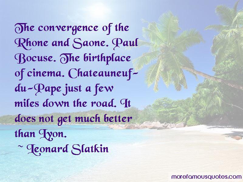Quotes About Paul Bocuse