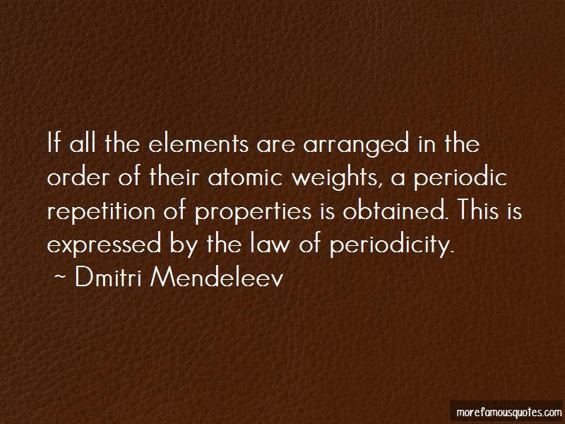 Periodicity Quotes Pictures 3