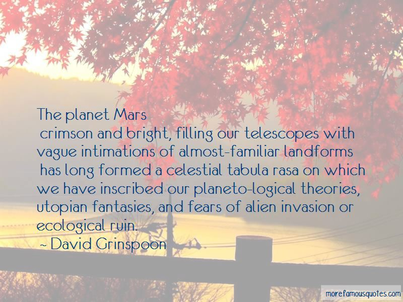 Quotes About Planet Mars