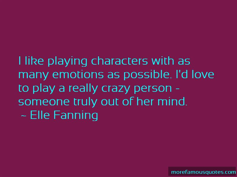 Quotes About Playing With Emotions