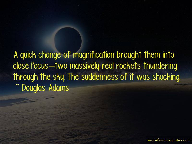 Quotes About Quick Change