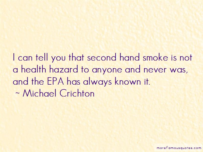 Second Hand Smoke Quotes Pictures 4