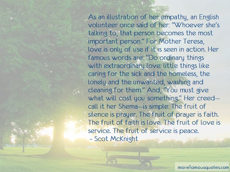 Quotes About Service Mother Teresa