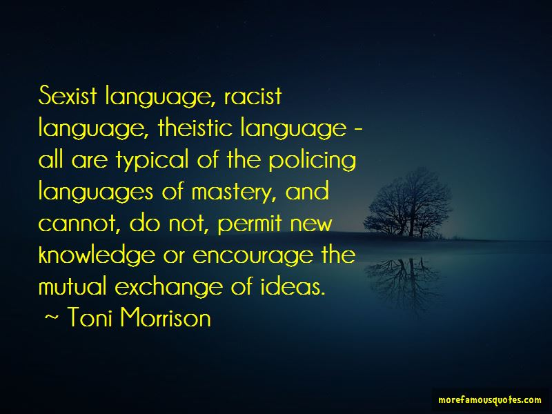 Quotes About Sexist Language