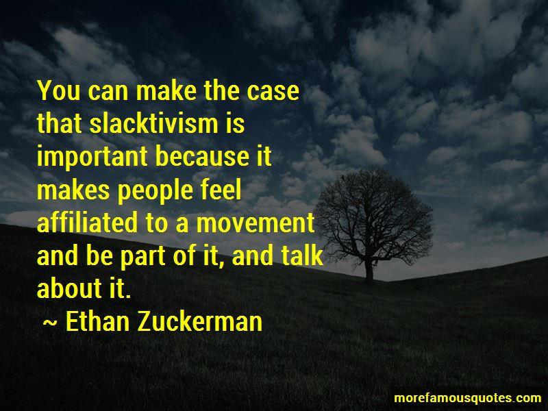 Quotes About Slacktivism