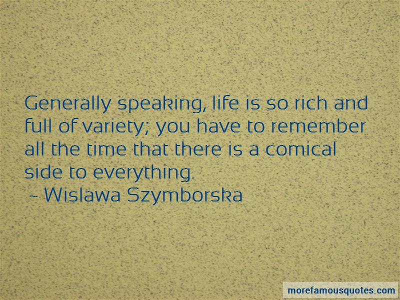 Quotes About Speaking Life