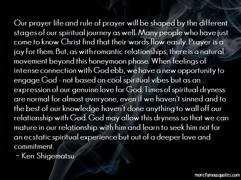 Quotes About Spiritual Dryness