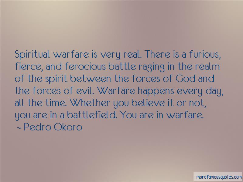 Quotes About Spiritual Warfare