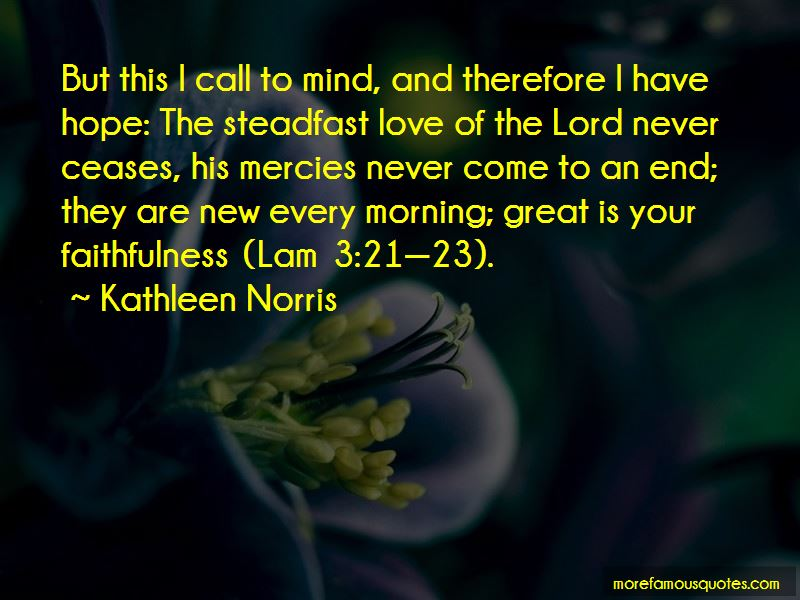 Steadfast Love Quotes Pictures 2