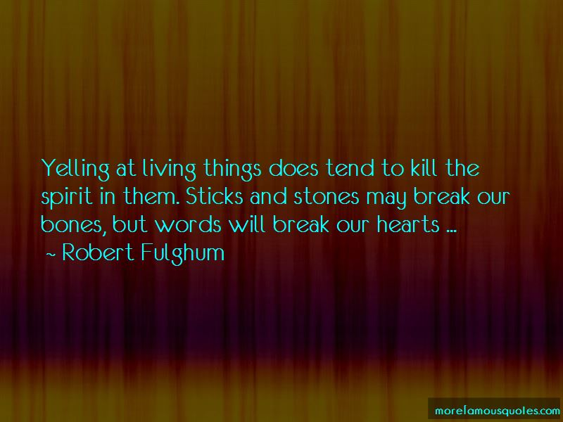 Quotes About Sticks And Stones