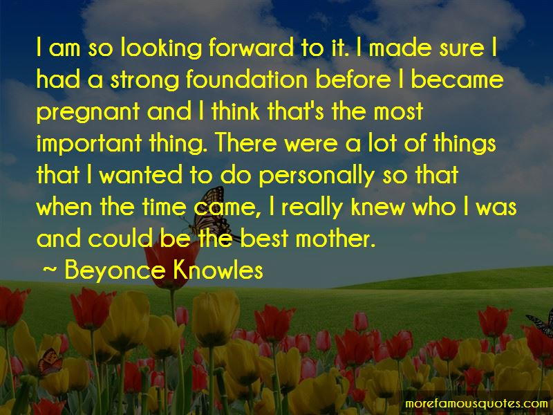 Quotes About Strong Foundation