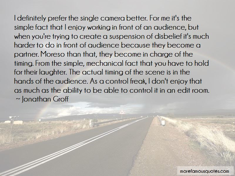 Suspension Of Disbelief Quotes Pictures 4