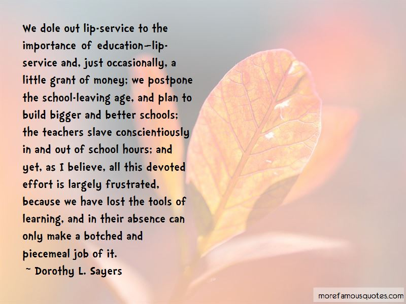 Quotes About Teachers And Learning