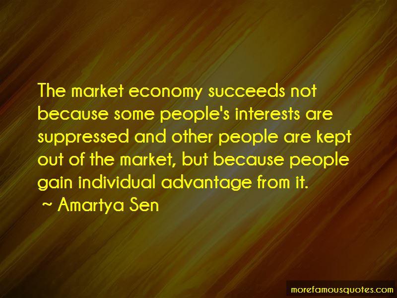 The Market Economy Quotes Pictures 2