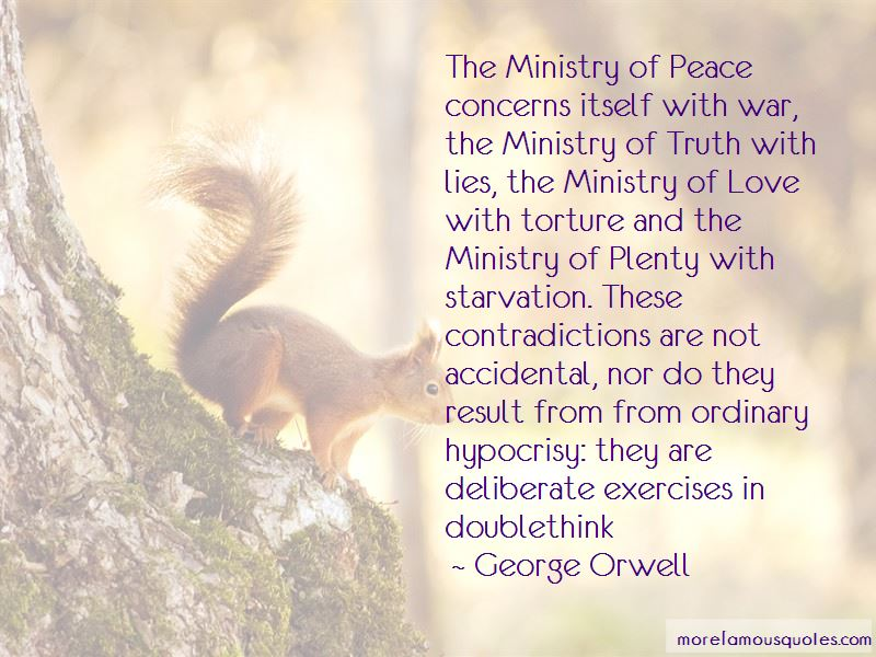 The Ministry Of Truth Quotes Pictures 2