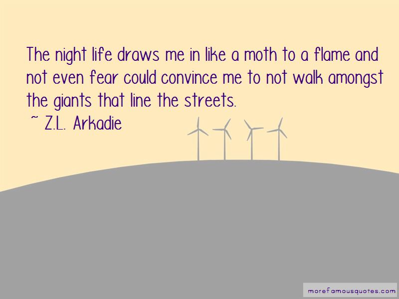 Quotes About The Night Life