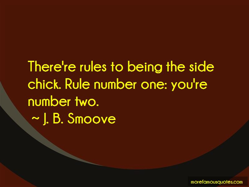 Quotes About The Side Chick