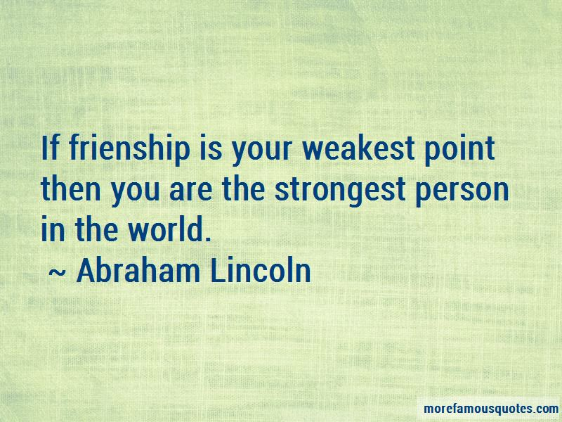 The Strongest Person Quotes Pictures 2