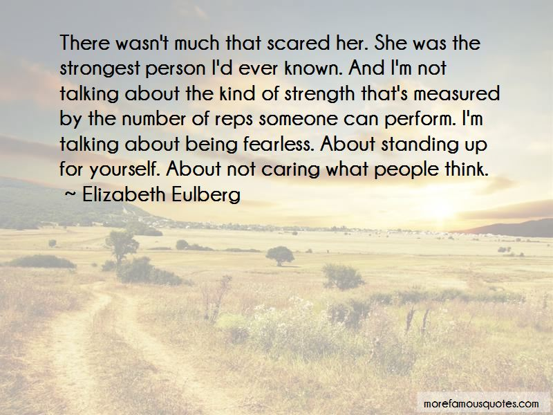 Quotes About The Strongest Person