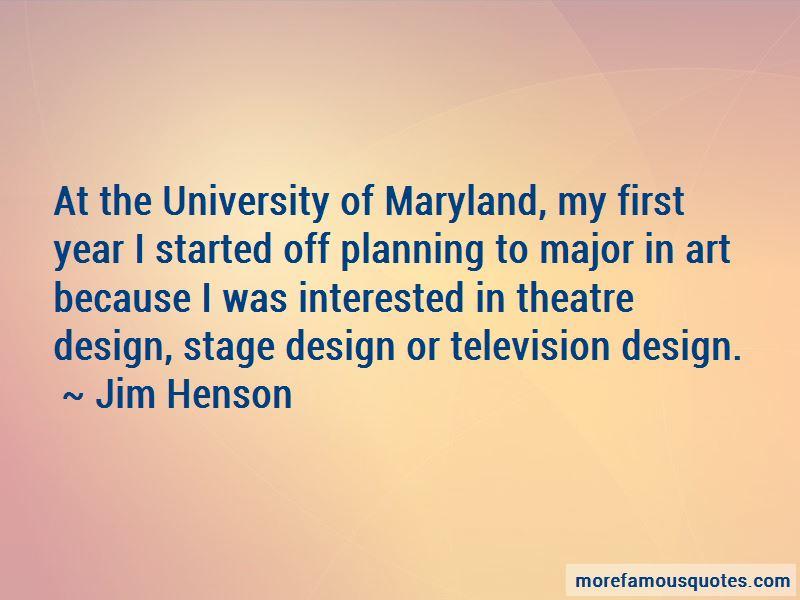Quotes About Theatre Design