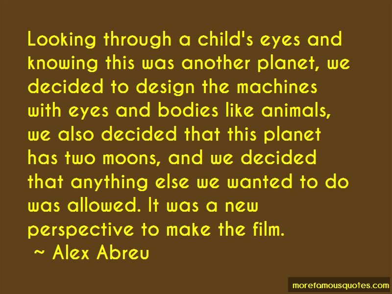 Quotes About Through A Child's Eyes