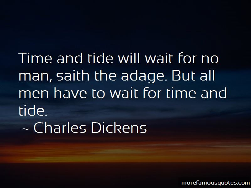 Quotes About Time And Tide