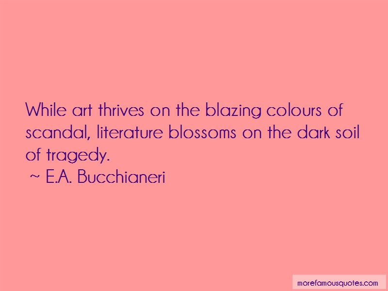 Quotes About Tragedy In Literature