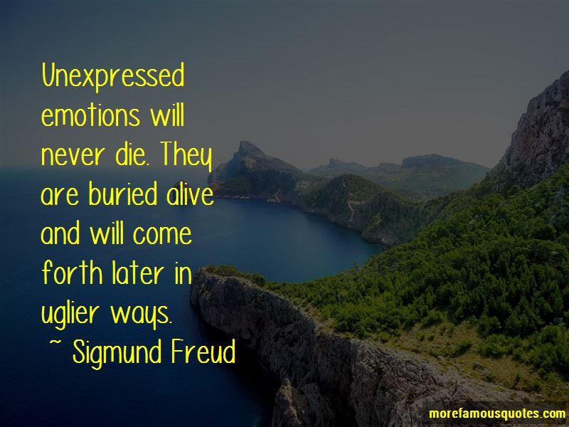 Quotes About Unexpressed Emotions