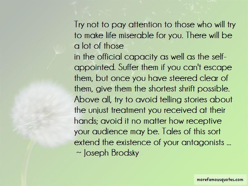 Quotes About Unjust Treatment