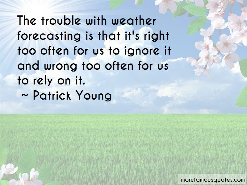 Quotes About Weather Forecasting