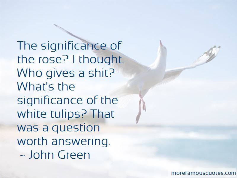 Quotes About White Tulips