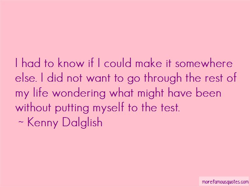 Quotes About Wondering What Might Have Been