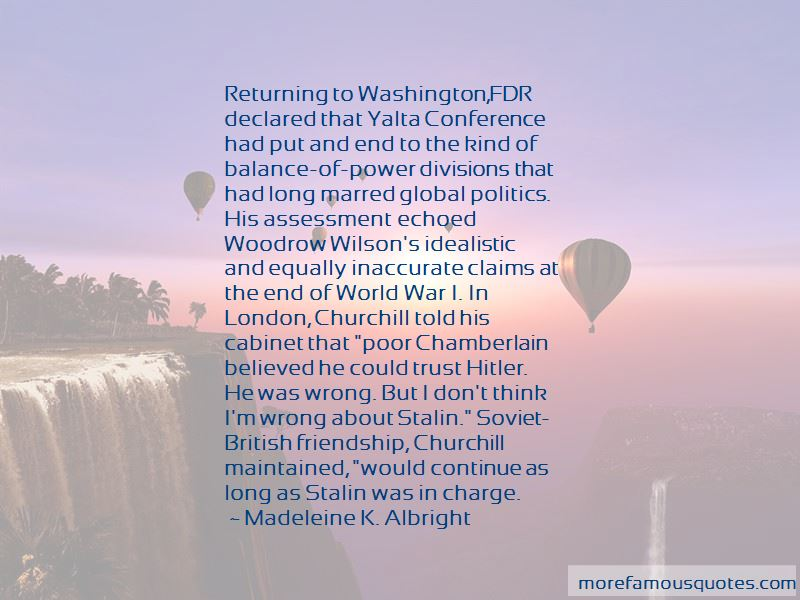 Quotes About Yalta Conference