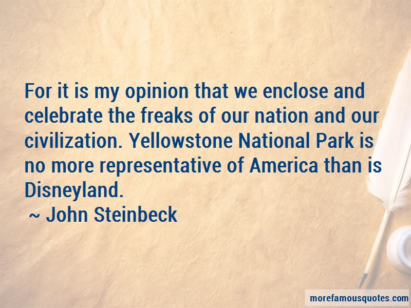 Quotes About Yellowstone National Park