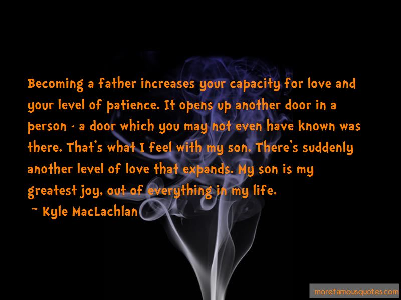 Quotes About Your Son Becoming A Father