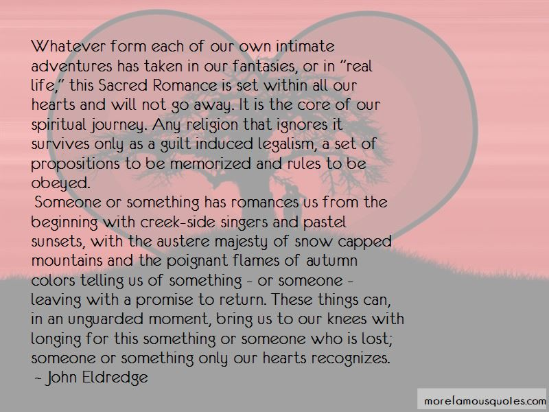 Sacred Romance Quotes Pictures 2