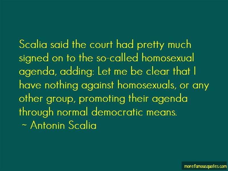 Scalia Quotes
