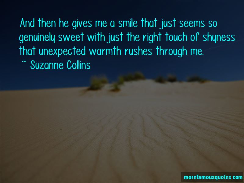 Shyness Smile Quotes Pictures 3