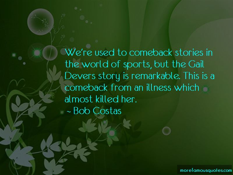 Sports Comeback Quotes