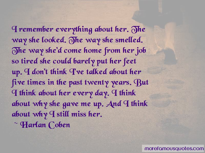 Still Miss Her Quotes