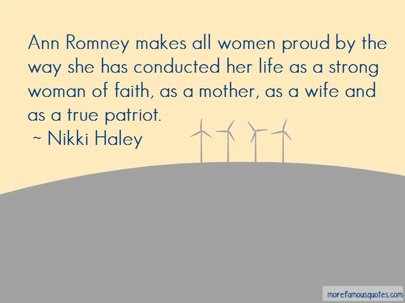 Strong Wife And Mother Quotes Pictures 2