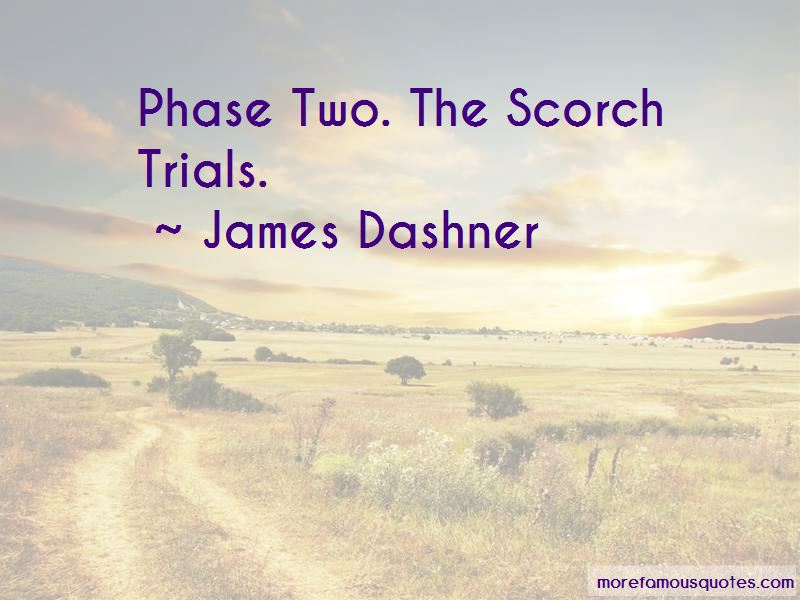 The Scorch Trials Quotes Top 2 Quotes About The Scorch Trials From