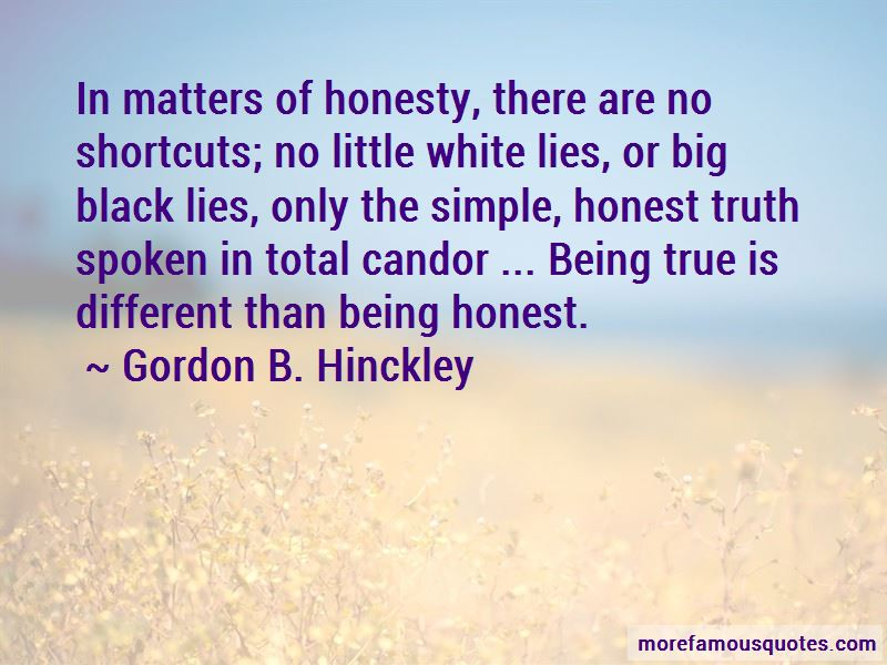 Truth Honesty And Lies Quotes
