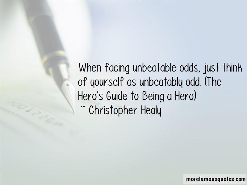 Unbeatable Odds Quotes Pictures 2