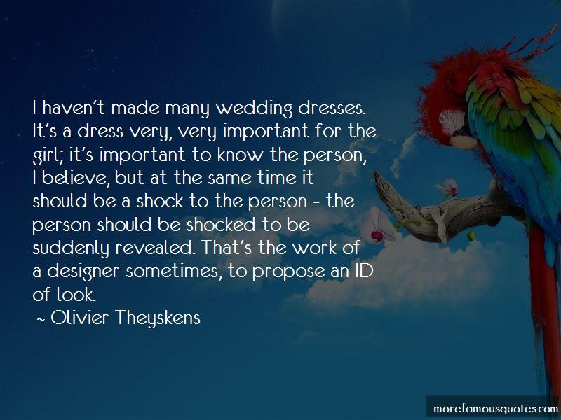 Wedding Dress Designer Quotes
